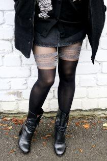MINELLI musta värvi sukkpüksid | Sokisahtel