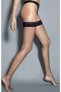 RETE GRANDI suure võrguga mustad sukad | Sokisahtel