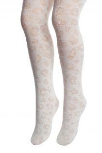 ZORIA valged loomamustriga sukkpüksid lastele | Sokisahtel