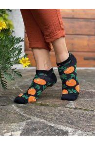 LAVITA low-cut cotton socks with clementines | Sokisahtel