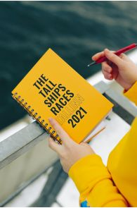 THE TALL SHIPS RACES 2021 kollane märkmik | Sokisahtel