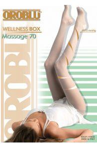 Компрессионные колготки коричневого цвета с поддерживающим эффектом Oroblu WELLNESS BOX 70DEN | Sokisahtel