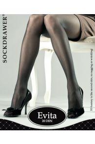 Колготки телесного цвета EVITA 3D | Sokisahtel