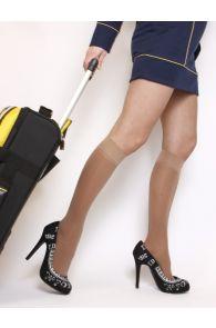 VARIS 70DEN nude compression knee-highs | Sokisahtel