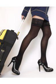 VARIS 140DEN black support stockings | Sokisahtel