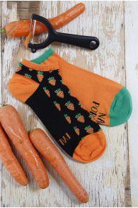 Men's and women's chef socks PORGAND (Carrot) | Sokisahtel