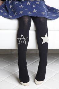 STAR mustad tüdrukute sukkpüksid | Sokisahtel