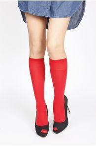 CADRI red knee-highs | Sokisahtel