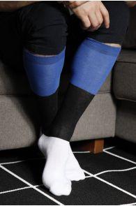 EESTI men's cotton knee-highs in the colours of the Estonian flag | Sokisahtel