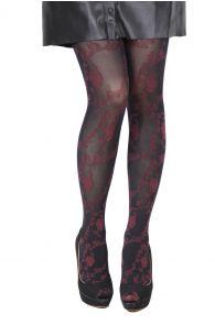 ANDRA 60 DENIER black tights for women | Sokisahtel