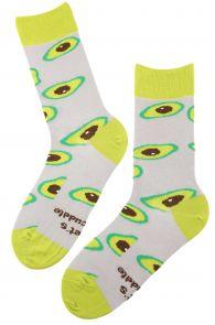AVOCADO grey chef socks | Sokisahtel