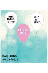 BIRTHDAY balloons 3 pack | Sokisahtel