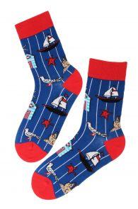 SEA themed cotton socks | Sokisahtel