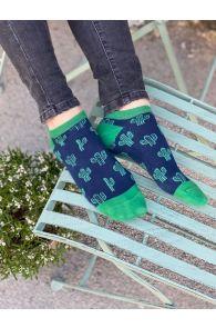 CACTUS low-cut cotton socks | Sokisahtel