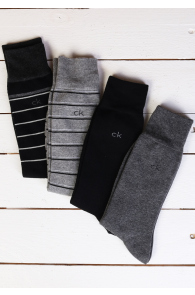 CALVIN KLEIN men's socks, 4-pack   Sokisahtel