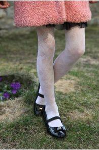 CAROL 40DEN white tights | Sokisahtel