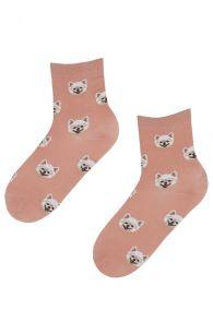 DOGGY roosad koerasõbra sokid koertega   Sokisahtel