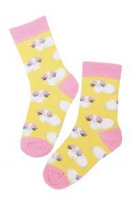 Детские хлопковые пасхальные носки с милыми зайчиками EGGBUNNY (Пасхальный заяц) | Sokisahtel