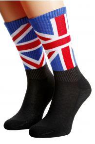 Хлопковые носки для женщин и мужчин с британским флагом ENGLAND | Sokisahtel