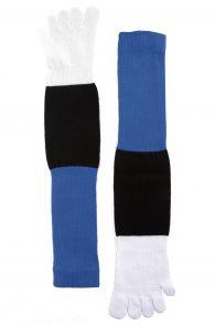 Мужские носки с пальцами в цветах флага Эстонии ESTONIA | Sokisahtel