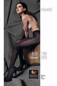 Женские теплые колготки коричневого цвета EVE 180DEN Gaetano Cazzola | Sokisahtel