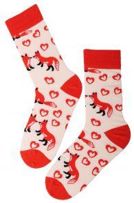 FOXY LOVE puuvillased sõbrapäeva sokid | Sokisahtel