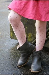 GAIA old pink tights for kids | Sokisahtel