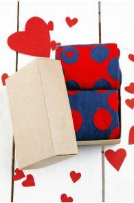 HAPPY LOVE kinkekarp 2 sokipaariga | Sokisahtel