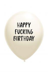 HAPPY FUCKING BIRTHDAY balloon | Sokisahtel
