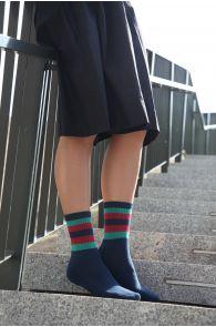 HIROKO sinised säravad sokid naistele | Sokisahtel