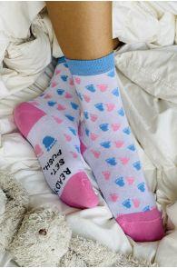 Женские хлопковые носки белого цвета MIDWIFE | Sokisahtel