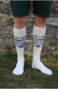 MINU ARM (My love) men's cotton knee-highs | Sokisahtel