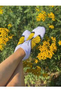 BUTTERFLY liblikaga madalad puuvillased sokid | Sokisahtel