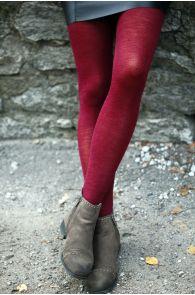 MILANA bordoopunased meriinovillased sukkpüksid | Sokisahtel