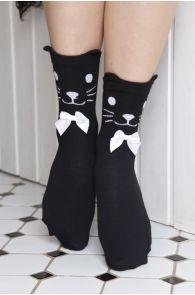 KITKAT socks with a bow for kids | Sokisahtel