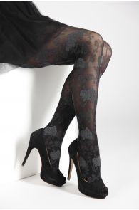 KLAARA 60DEN roosimustrilised sukkpüksid | Sokisahtel