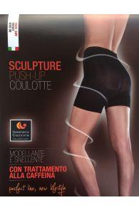 Gaetano Cazzola SILVIA 80 DENIER beige push up short leggings | Sokisahtel