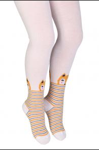 LADYFOX white tights for kids | Sokisahtel