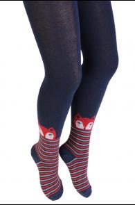 LADYFOX blue tights for kids | Sokisahtel