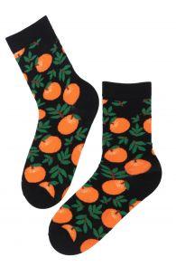 LAVITA cotton socks with clementines | Sokisahtel