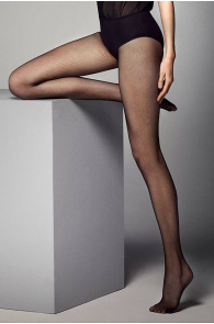 Женские тонкие колготки телесного цвета в микросетку MICRORETINA 20DEN | Sokisahtel