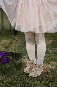 MIMMY 40DEN white tights | Sokisahtel