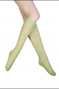 ZENTA rohelised põlvikud naistele | Sokisahtel