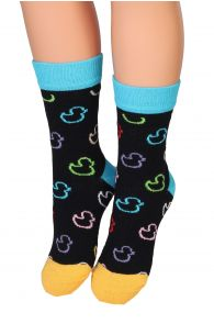 PARDIRALLI black cotton socks for children | Sokisahtel