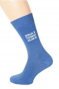 Персональные свадебные носки для мужчин | Sokisahtel