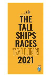 THE TALL SHIPS RACES 2021 kollane mikrofiibrist rätik | Sokisahtel