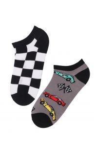 RACECAR low-cut cotton socks | Sokisahtel