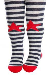 RASMUS hallid triibulised sukkpüksid beebidele | Sokisahtel