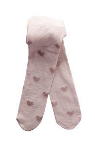 SISSI roosad südametega sukkpüksid beebidele | Sokisahtel