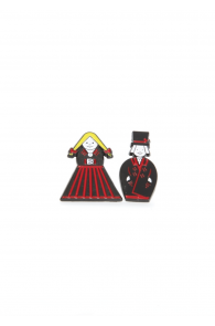 Нагрудные значки в виде мужчины и женщины Мульги | Sokisahtel